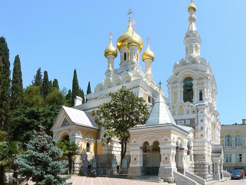 Паломнические места в Крыму – Храм Александра Невского в Ялте
