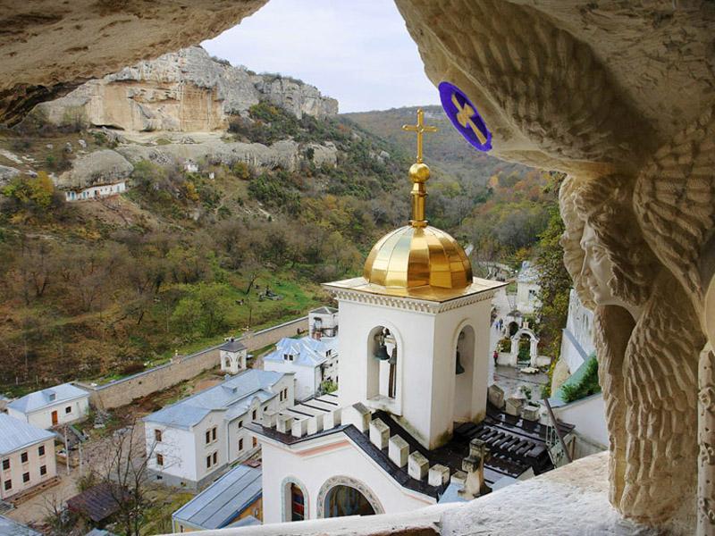 Святые места христианства в Крыму – Успенский монастырь